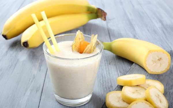 Banana Milkshake Recipe , Healthy drink for breakfast