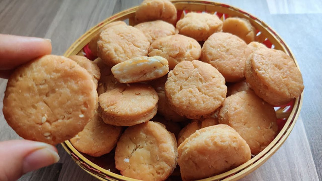 Milk Biscuits Recipe   How To Make Milk Biscuit At Home