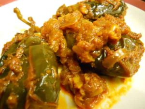 kashmiri sour eggplant