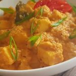 Paneer gravy with coconut
