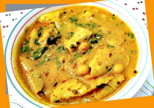 recipe papad curry