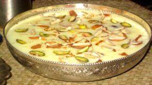 saffron shahi kheer