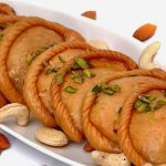 dry fruits gujiya