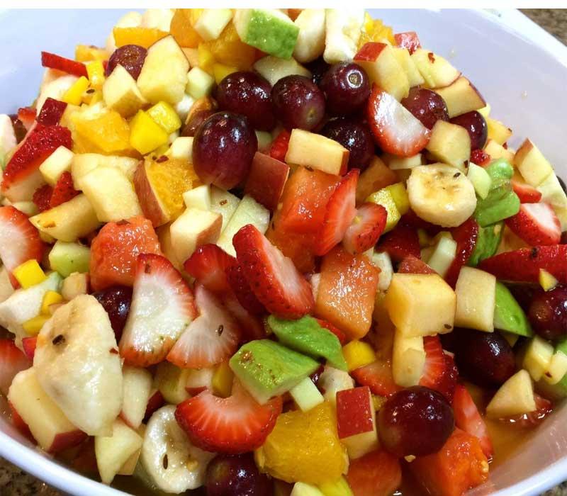 फ्रूट सलाद खाने में जायकेदार और बनाने में आसान – Fruit salad