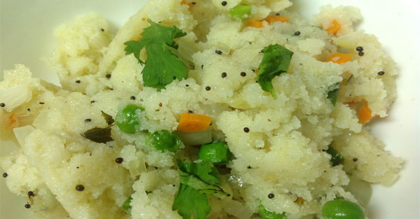 vegetable upma recipe in hindi