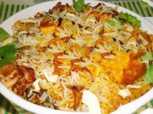 makhni paneer biryani