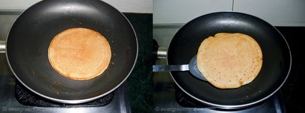 how to make pan cake without egg in hindi