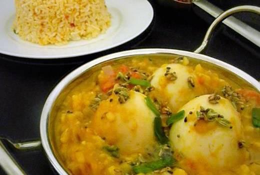 अरुणाचल प्रदेश की मशहूर कारजी एग-दाल तड़का रेसिपी – egg tadka recipe