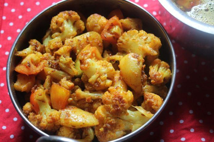 fried gobhi masala