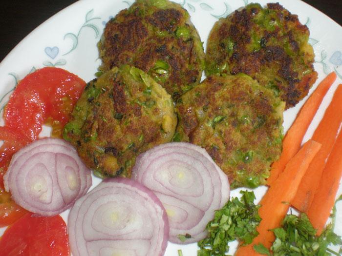 हरा भरा कवाब बनाइए घर पर – hara bhara kabab recipe