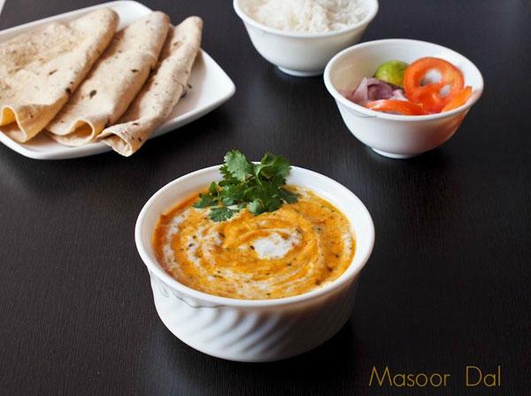 क्रीमी मसूर दाल बनाने की विधि – masoor dal recipe in hindi