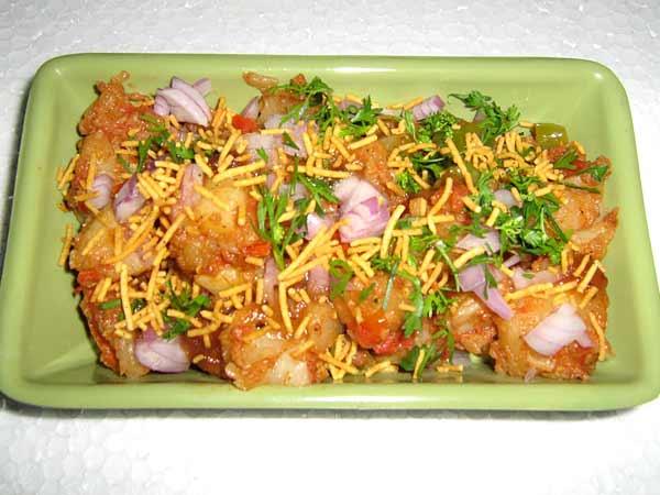 aaloo chaat recipe