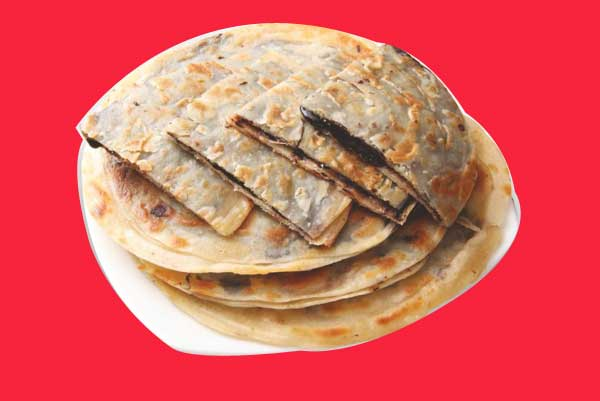 chocolate paratha recipe