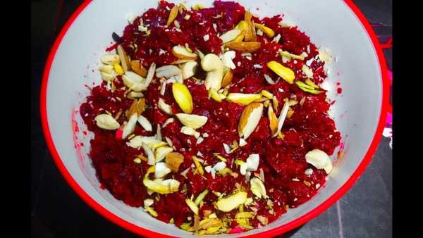 स्वादिष्ट चुकंदर का हलवा और इसके फायदे – chukandar ka halwa recipe in hindi