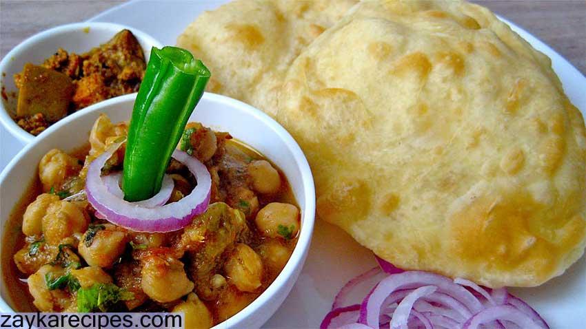 पंजाब की शानदार डिश छोले भठूरे Chole Bhature Recipe in Hindi