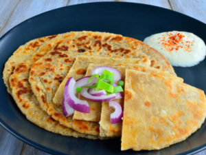 oats paratha recipe