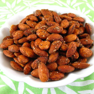 rost almonds