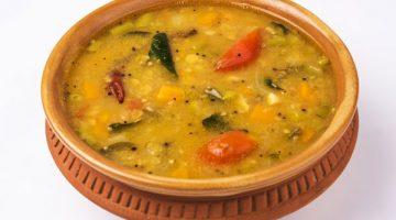 घर पर ही बनाएं टेस्टी बटर मिल्क सांभर Buttermilk Sambar Recipe in Hindi