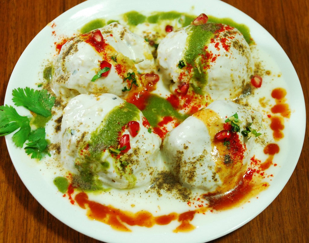 Image result for Dahi Bhalle