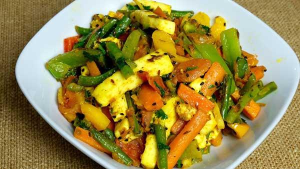 mix veg paneer sabzi