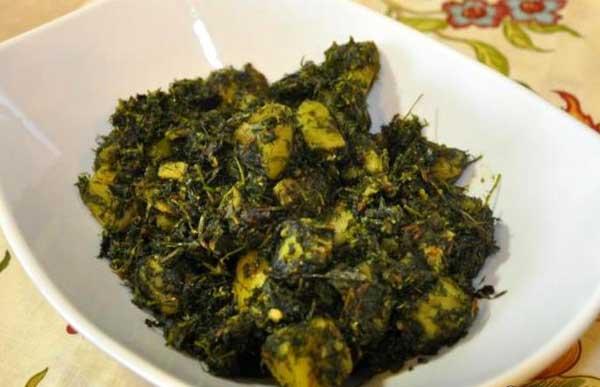 पौष्टिकता से भरपूर सोया मेथी आलू की सब्ज़ी – soya methi aloo recipe