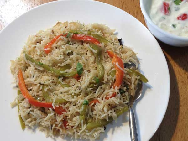 शिमला मिर्च पुलाव बनाने की रेसिपी – shimla mirch pulao recipe
