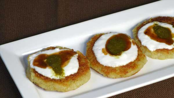 aloo tikki potato patties