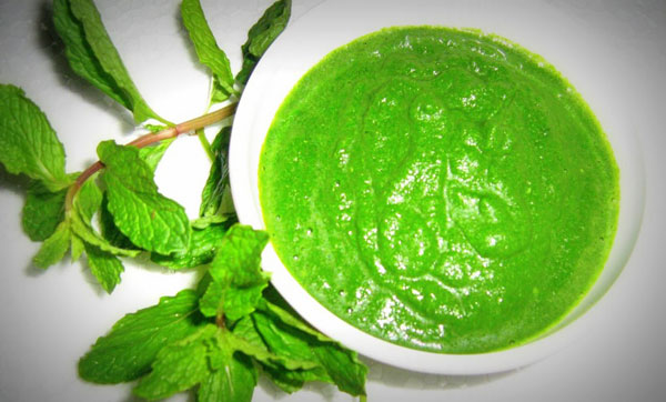 Green Pudine Ki Chutney