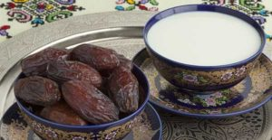 Milk and dates