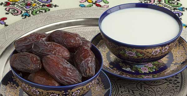 Milk and dates