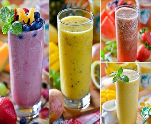 fruits shake recipe