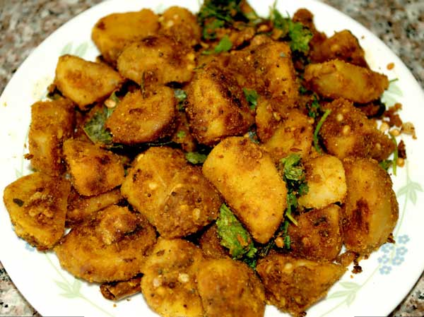 Masala fry Arabic potato