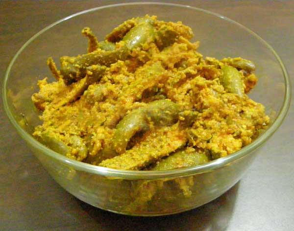 recipe of dry mango pickle