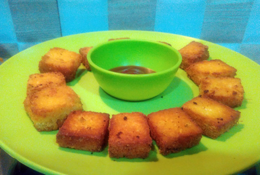 fried chanadal tukda
