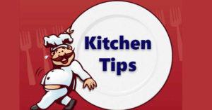 Chef Kitchen Tips