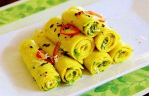 gujrati recipe Khandvi