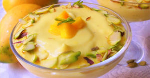 how to make mango shrikhand