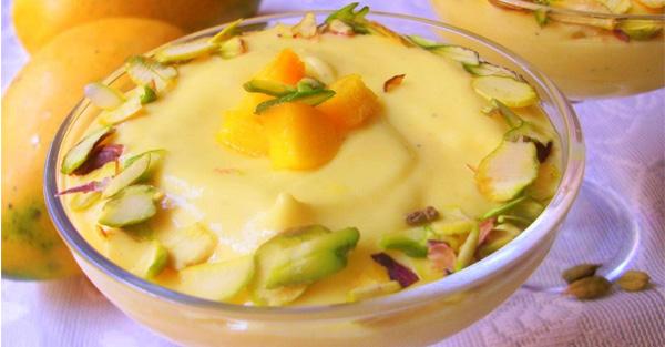 how to make mango shrikhand