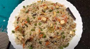 pachranga pulao recipe