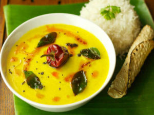 Make Kadhi without curd