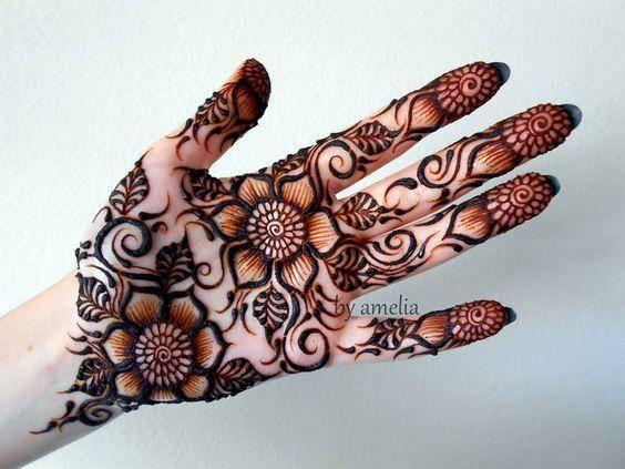 raksha bandhan festival mehndi design3