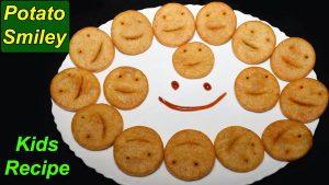 Smiley potatoes