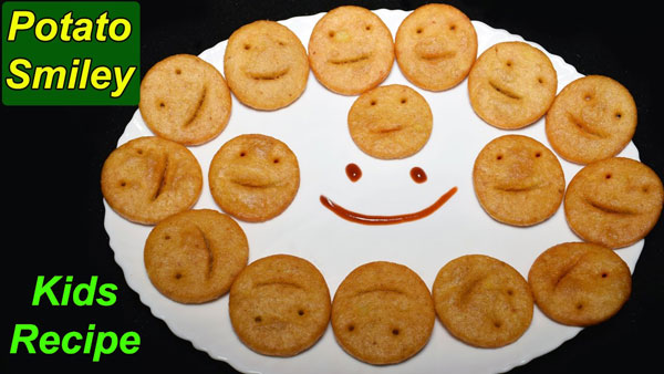 Smiley potatoes