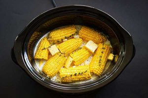 boiling sweet corn in microwave