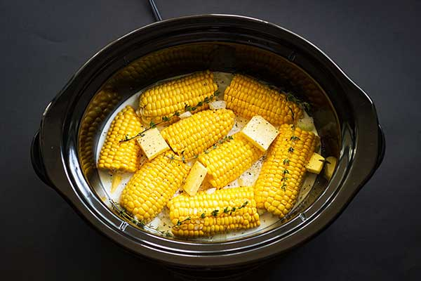 boiling sweet corn in microwave