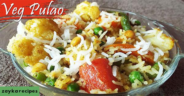 easy pulao recipes