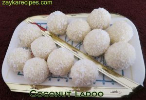 Coconut laddoo