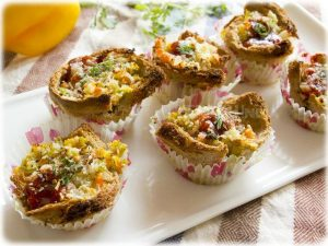 bread tartlets recipe