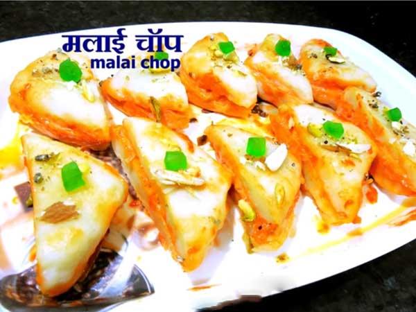 malai chop recipe