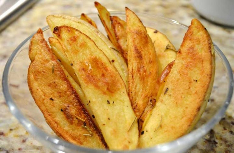 roasted potato wedges recipe